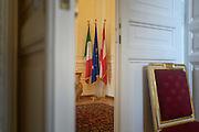 L'interno dell'Ambasciata austriaca a Roma. Roma 28 aprile 2016. Christian Mantuano / OneShot<br /> <br /> Inside the Austrian Embassy in Rome. Rome, 28 April 2016. Christian Mantuano / OneShot