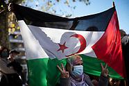 Saharawi demonstration