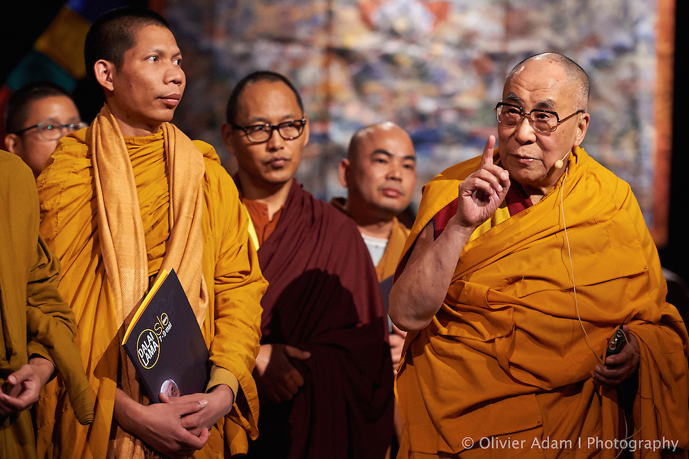 Conclusion of the teachings about mindfulness, based on the training of the mind in eight verses of Master Lagri Tangpa. Dalai Lama