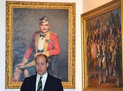 October 24, 2016 - Sterling, United Kingdom - Image licensed to i-Images Picture Agency. 24/10/2016. Sterling, United Kingdom. Prince William, Duke of Cambridge during a visit to Stirling Castle in Scotland, United Kingdom.  The Duke of Cambridge in his role as Earl of Strathearn is Patron of The Thin Red Line Appeal to redevelop The Argyll and Sutherland Highlanders Regimental Museum at the Castle Picture by ROTA / i-Images (Credit Image: © Rota/i-Images via ZUMA Wire)