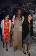 """Jade Jagger with her daughters: Amber and Assisi . Royal Film Performance and World Premiere of """"The Chronicles Of Narnia"""" at the Royal Albert Hall. London and after-party in Kensington Gardens. 7 December  2005.ONE TIME USE ONLY - DO NOT ARCHIVE  © Copyright Photograph by Dafydd Jones 66 Stockwell Park Rd. London SW9 0DA Tel 020 7733 0108 www.dafjones.com"""