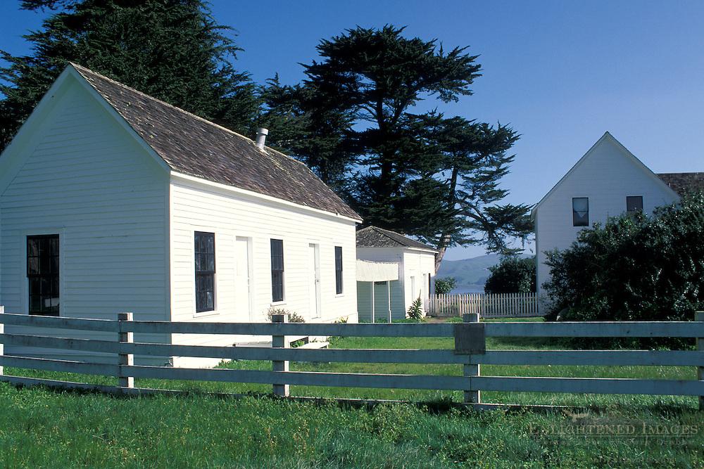 Historic Pierce Point Ranch, Point Reyes National Seashore, Marin County, California