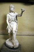 Odysseus (Ulysses) hero of Homer's epic poem 'The Odyssey'. Statue.