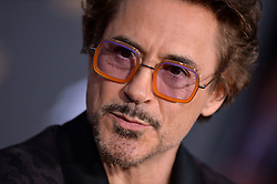 Robert Downey Jr. attends the World Premiere of Avengers: Infinity War on April 23, 2018 in Los Angeles, California. Photo by Lionel Hahn/ABACAPRESS.COM