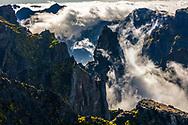 Arieiro peak in Madeira