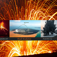 Anak Krakatau visit before / after the Cataclysm