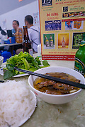 VieWhere Barack Obama and Anthony Bourdain dined, Bun Cha Huong Lein Restaurant, Hanoi,Vietnam