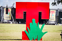 In the main site for the opening of T in the Park 2016,Friday 8/9/2016.