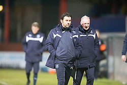 Dundee's manager Paul Hartley. <br /> Dundee 4 v 1 Motherwell, SPFL Premiership played 10/1/2015 at Dundee's home ground Dens Park.