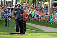 12 JUL 15 Slo-Mo expert Rudy Niedermeyer during Sunday's Final Round of the John Deere Classic at The TPC Deere Run in Silvis, Ill. (photo credit : kenneth e. dennis/kendennisphoto.com)