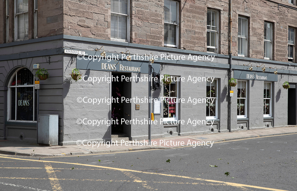 Daily Record Restaurant Review…14.06.18<br />Deans Restaurant, Kinnoull Street, Perth<br />Picture by Graeme Hart.<br />Copyright Perthshire Picture Agency<br />Tel: 01738 623350  Mobile: 07990 594431