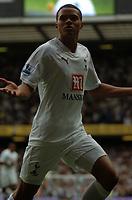 Photo: Tony Oudot.<br /> Tottenham Hotspur v Derby County. The FA Barclays Premiership. 18/08/2007.<br /> Jermaine Jenas celebrates his goal for Tottenham