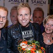NLD/Amsterdam\/20131025 - CD presentatie Jeffrey Schenk, met zijn ouders