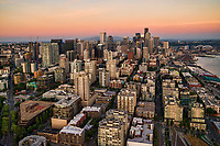 Belltown District (foreground) & Downtown Seattle