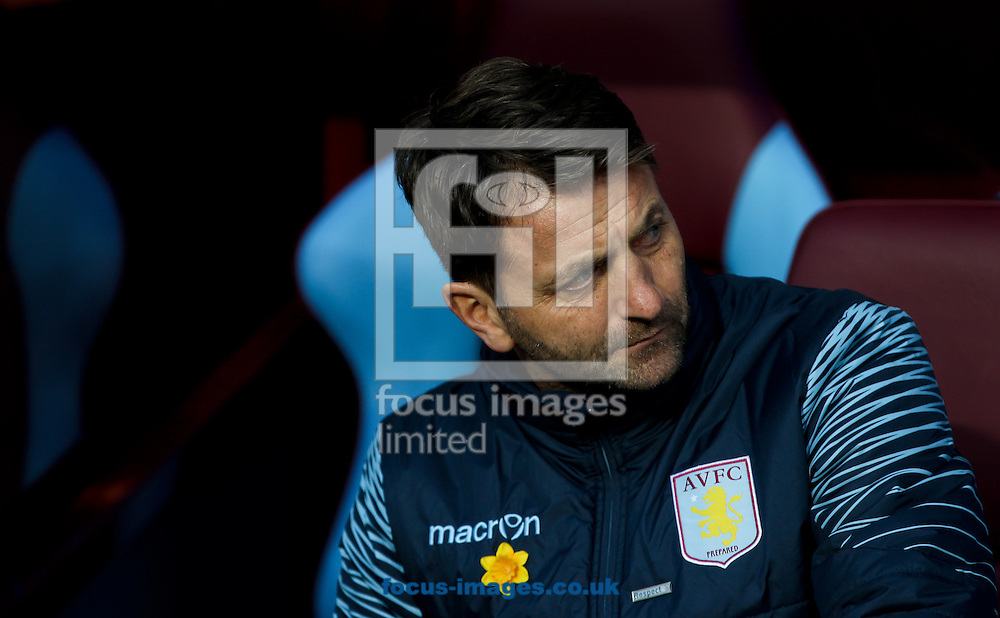 Aston Villa manager Tim Sherwood before the FA Cup match at Villa Park, Birmingham<br /> Picture by Tom Smith/Focus Images Ltd 07545141164<br /> 07/03/2015