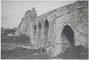 roman aqueduct of Valens Istanbul early 1900s