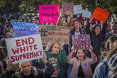 USA: Love Trumps Hate protest in Washington Square Park, 12 Nov. 2016