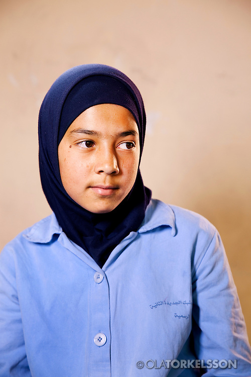 Zainab (not her real name) is 14 years old and comes from the Al Qusayr area in Syria.<br /> Photos Ola Torkelsson <br /> Copyright Ola Torkelsson © 2013