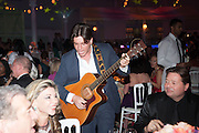 LISA TCHENGUIZ; JASON KING; GYPSY QUEENS Grey Goose Winter Ball to benefit the Elton John Aids Foundation. Battersea Power Station. London. 10 November 2012.