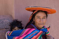 Raqchi (near Cuzco), Peru, South America.  MR