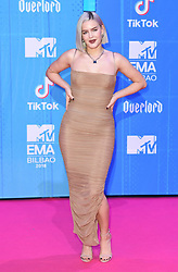 Anne Marie attending the MTV Europe Music Awards 2018 held at the Bilbao Exhibition Centre, Spain. Photo credit should read: Doug Peters/EMPICS