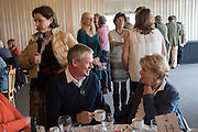 PHILIPPA CLUNES; MARTIN CLUNES;  LORD LIEUTENANT OF SOMERSET MRS.  ANNIE MAUR, Side-Saddle Dash, Southern Spinal Injuries Trust charity Day. Wincanotn. 25 October 2015.