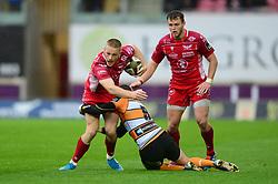 Johnny McNicholl of Scarlets - Mandatory by-line: Dougie Allward/JMP - 02/11/2019 - RUGBY - Parc y Scarlets - Llanelli, Wales - Scarlets v Toyota Cheetahs - Guinness PRO14