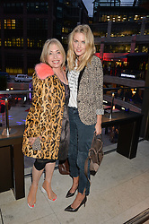 Left to right, BRIX SMITH START and DONNA AIR at the launch of Broadgate Circle, City of London on 9th June 2015.