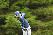 Ronan O'Keeffe (Monkstown) during the Connacht U14 Boys Amateur Open, Ballinasloe Golf Club, Ballinasloe, Galway,  Ireland. 10/07/2019<br /> Picture: Golffile   Fran Caffrey<br /> <br /> <br /> All photo usage must carry mandatory copyright credit (© Golffile   Fran Caffrey)