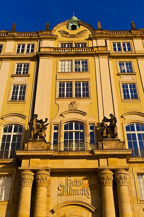 Architecture, Altmarkt, Dresden, Saxony, Germany
