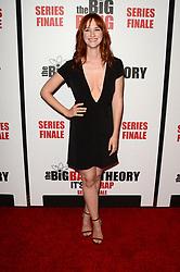 May 1, 2019 - Pasadena, CA, USA - LOS ANGELES - MAY 1:  Laura Spencer at the ''The Big Bang Theory'' Series Finale Party at the Langham Huntington Hotel on May 1, 2019 in Pasadena, CA (Credit Image: © Kay Blake/ZUMA Wire)