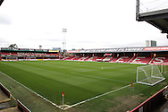 Griffin Park during the Sky Bet Championship match between Brentford and Bristol City at Griffin Park, London, England on 16 April 2016. Photo by Matthew Redman.