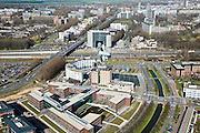 Nederland, Zuid-Holland, Zoetermeer, 04-03-2008; kantoren, kantorenpark in de wijk Rokkeveen; parallel aan autosnelweg A12; vergaderen, kantoor, bereikbaarheid. .luchtfoto (toeslag); aerial photo (additional fee required); .foto Siebe Swart / photo Siebe Swart