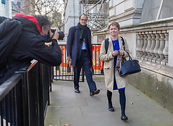 © Licensed to London News Pictures. 13/11/2020. London, UK. Dido Harding Head of NHS Test and Trace arrives at Downing Street as Dominic Cummings, Boris Johnson's top adviser, announced this morning that he will quit by Christmas. Yesterday Lee Cain, No10's Director of Communications dramatically quit as a political storm hits the Government. Photo credit: Alex Lentati/LNP