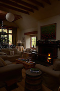 Christmas decorations at Lewinhope Mill. The Mill is a 5 star self catering accomodation, in the Yarrow Valley, near Selkirk