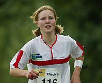 Orientering, 21. juni 2002. NM sprint. Tone Ellefsen Lye, Tyrving.