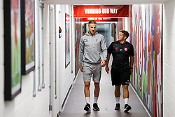 Daniel Bentley of Bristol City arrives - Rogan/JMP - 27/09/2020 - Ashton Gate Stadium - Bristol, England - Bristol City v Sheffield Wednesday - Sky Bet Championship.