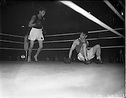 31/10/1952.10/31/1952.31 October 1952.Boxing Germany v Ireland   31/10/1952.10/31/1952.31 October 1952.Boxing Germany v Ireland at the National Stadium..M. McCullagh v R. Willie.