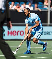 BREDA -  Sardar Singh (Ind.) tijdens de shoot outs.  , Australia-India (1-1), finale Rabobank Champions Trophy 2018. Australia wint shoot outs.  COPYRIGHT  KOEN SUYK