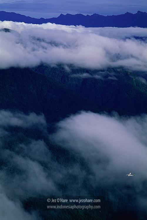 Air Regional De Havilland Twin Otter, Papua, Indonesia.