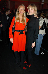 Left to right, MARTHA WARD and TICKY HEDLEY-DENT at a party to celebrate the launch of a range of leather accessories designed by Giles Deacon for Mulberry held at Harvey Nichols, Knightsbridge, London on 30th October 2007.<br /><br />NON EXCLUSIVE - WORLD RIGHTS