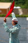 Henley on Thames, England, United Kingdom, 3rd July 2019, Henley Royal Regatta, Umpire, Richard PHELPS, on Henley Reach, [© Peter SPURRIER/Intersport Image]<br /> <br /> 11:44:55 1919 - 2019, Royal Henley Peace Regatta Centenary,