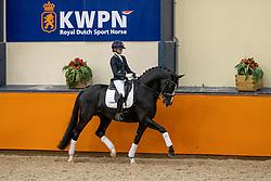 Van der Putten Marieke, NED, Jameson RS2<br /> Fotodag KWPN Hengstenkeuring 2021<br /> © Hippo Foto - Dirk Caremans<br /> 09/01/2021