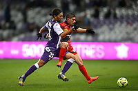 Abel Aguilar / Jeremy Pied - 20.12.2014 - Toulouse / Guingamp - 19eme journee de Ligue 1 <br />