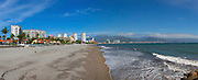 Puerto Vallarta; Beach; Jalisco; Mexico; panoramic