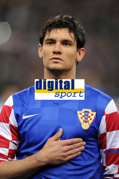 FOOTBALL - FRIENDLY GAME 2010/2011 - FRANCE v CROATIA - 29/03/2011 - PHOTO FRANCK FAUGERE / DPPI - DEJAN LOVREN (CRO)