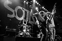 SOJA at Rams Head Live, Baltimore, MD, Dec., 2013 (photo: John Shore)