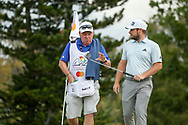 Tyrrell Hatton (ENG) and caddy Michael Donaghy during the final round of the Arnold Palmer Invitational presented by Mastercard, Bay Hill, Orlando, Florida, USA. 08/03/2020.<br /> Picture: Golffile   Scott Halleran<br /> <br /> <br /> All photo usage must carry mandatory copyright credit (© Golffile   Scott Halleran)