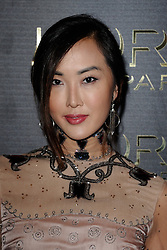 Yi Zhou attending the L'Oreal Gold Obsession Party as part of Paris Fashion Week Ready to Wear Spring/Summer 2017 in Paris, France on October 02, 2016. Photo by Aurore Marechal/ABACAPRESS.COM