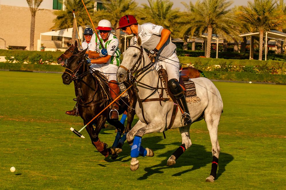 Polo Match, Desert Palm Polo Estate at the Desert Palm Hotel, Dubai, United Arab Emirates